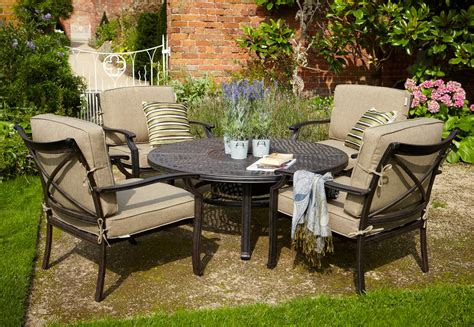 hartman oliver pit set metal garden furniture