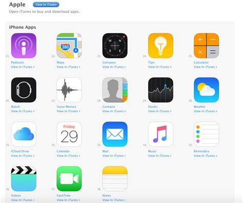 apple unbundles  native apps  mail maps