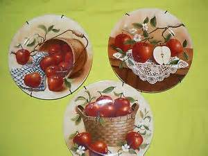 Apple Kitchen Decor Catalogs by Hangers Brass And Plates On