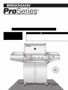 Brinkmann Gas Grill 4415 User Guide