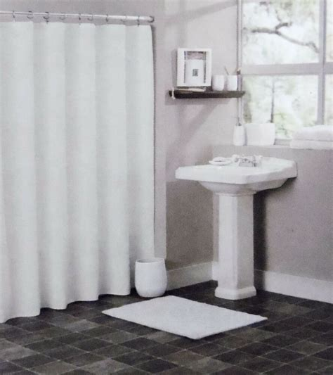 plastic shower solid white bathroom vinyl plastic shower curtain liner