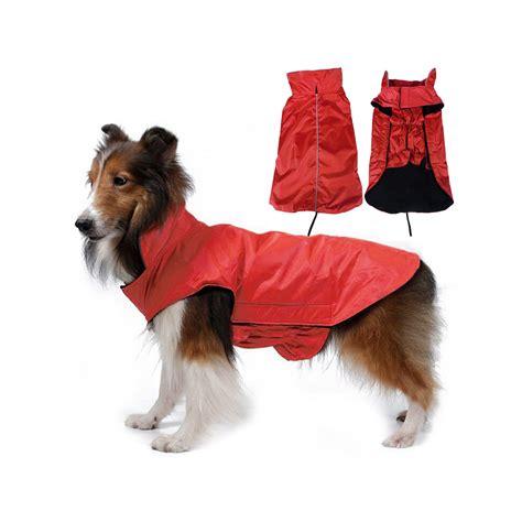 wasserdicht hundemantel regenmantel hundebekleidung