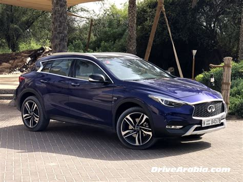 First Drive 2018 Infiniti Qx30 In The Uae  Drive Arabia