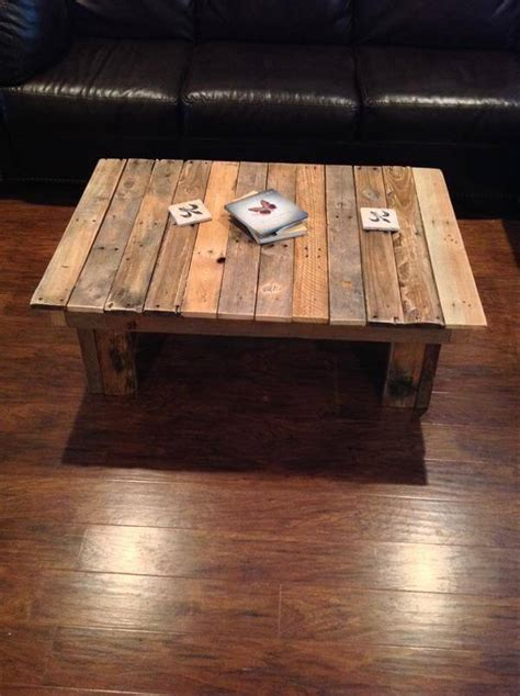 kitchen island on casters 12 diy antique wood pallet coffee table ideas diy and crafts
