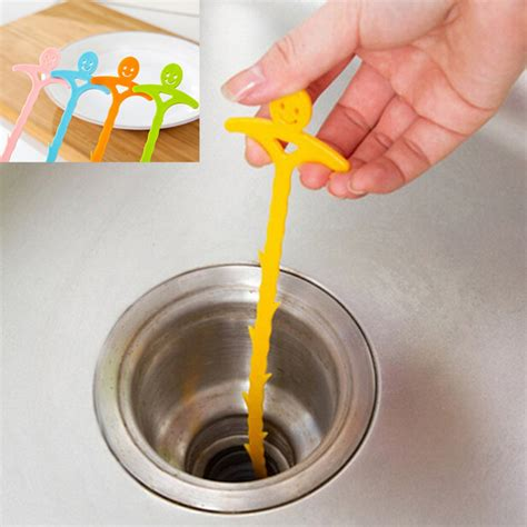 Cleaning A Bathroom Sink Drain by Bathroom Hair Sewer Filter Drain Outlet Kitchen Sink