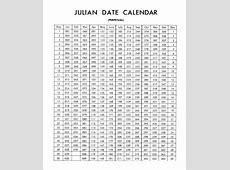 By Julian Day Calendar 2018 2018 Calendar Template Design