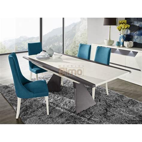 buffet bar cuisine table salle à manger contemporaine extensible laque et