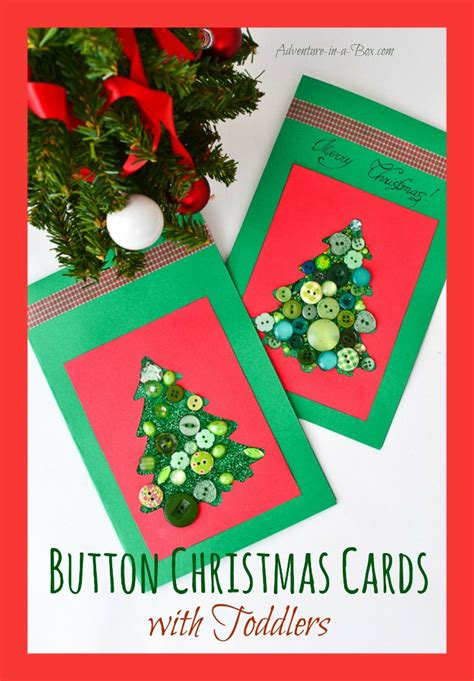 making christmas cards  toddlers