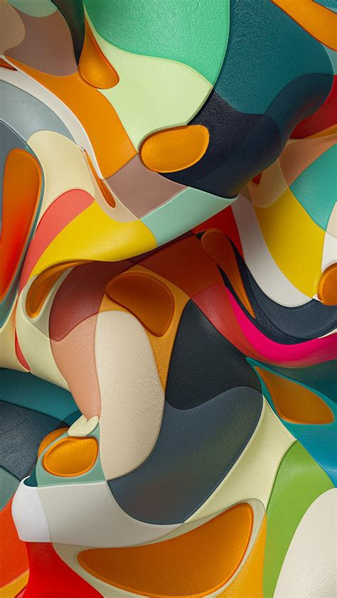 papersco iphone wallpaper wc  abstract color
