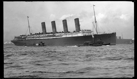 Lusitania Sinks In Real Time by The Centennial Of The Loss Of The Lusitania Vita Brevis