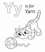 Coloring Yarn Letter Printable Lowercase Through Uppercase Sheet Learning Playinglearning sketch template