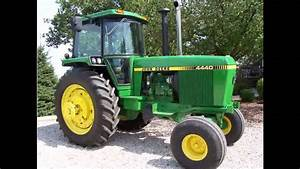 1981 Jd 4440 Tractor Sold For  47 500 On Iowa Farm Auction 1  19  13