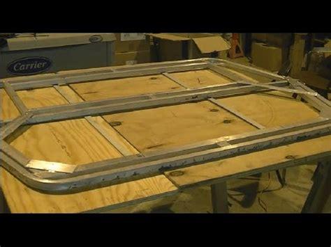 Jon Boat Top by Jon Boat Mods Part 3 T Top Tower Fabrication
