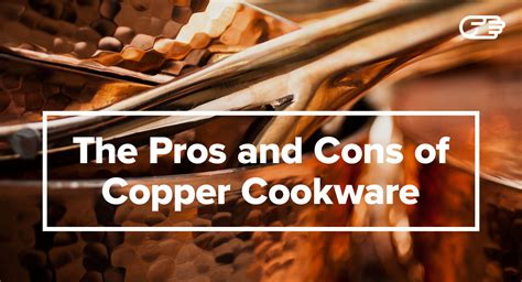 pros  cons  copper cookware