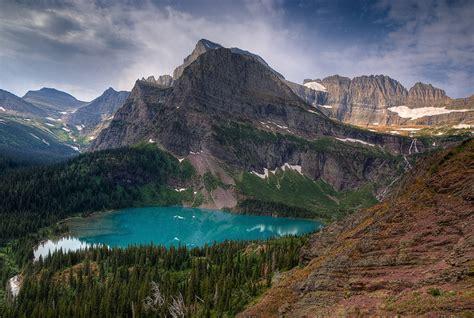 Grinnell Lake Overlook #2 : Glacier National Park, Montana ...