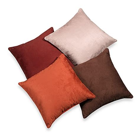 bed bath and beyond sofa pillows suede 20 inch square throw pillow bed bath beyond