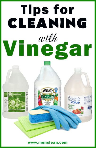 clean with vinegar cleaning with vinegar menclean com
