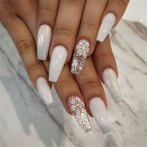 trends women   acrylic coffin nails  dressipcom