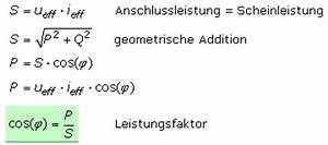 Leistungsfaktor Berechnen : wechselstromleistung ~ Themetempest.com Abrechnung