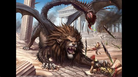 Top 50 Mythical Creatures and Monsters | Doovi