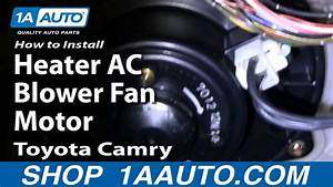 How To Replace Heater Blower Motor 92