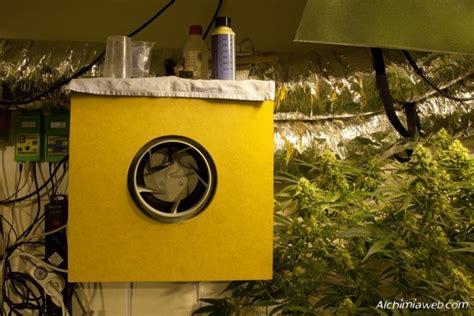 extracteur chambre de culture la ventilation de la culture de cannabis du