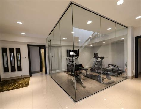 nice    gym area  separated   open