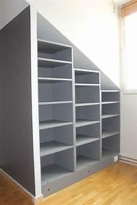Meuble Pour Comble : armoire pour comble armoire sous pente more monter un ~ Edinachiropracticcenter.com Idées de Décoration