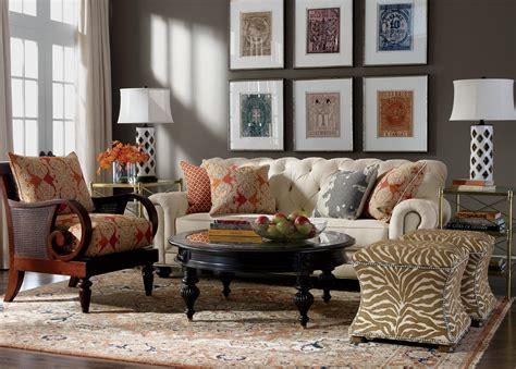 Global Mix Living Room  Ethan Allen