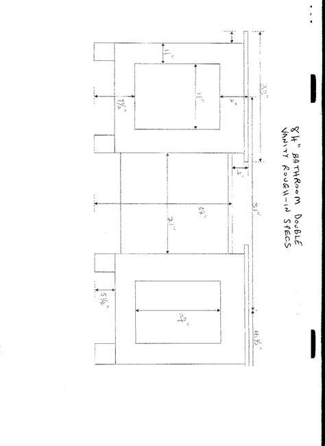 How To Measure Bathroom Sink by 8 Sink Dimensions Bathroom 54quot Opulento Sink
