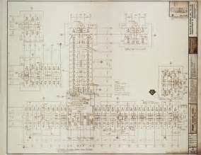 unlv libraries digital collections architectural drawing for mgm grand hotel las vegas 21st