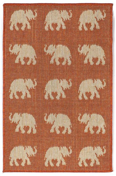 elephant area rug trans terrace 1767 74 elephants terra area rug