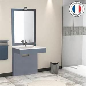 lavabo pmr achat vente lavabo pmr pas cher les With meuble salle de bain pour personne a mobilite reduite