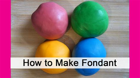 how to make fondant making homemade fondant in minutes youtube