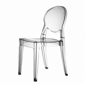 But Chaise Transparente : 4 x chaise design transparente polycarbonate igloo mooviin ~ Teatrodelosmanantiales.com Idées de Décoration