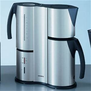 Thermo kaffeemaschine tc 91100 tc91100 siemens fa for Porsche kaffeemaschine