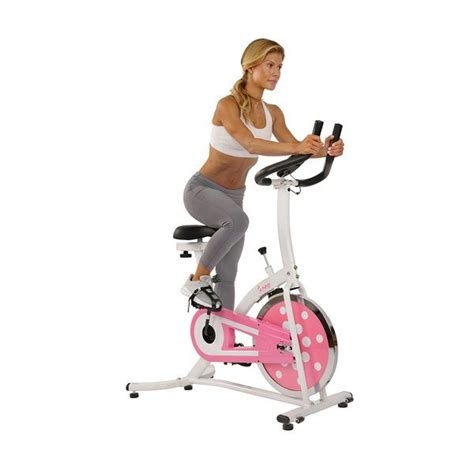 PINK CHAIN DRIVE INDOOR CYCLING TRAINER EXERCISE BIKE ...