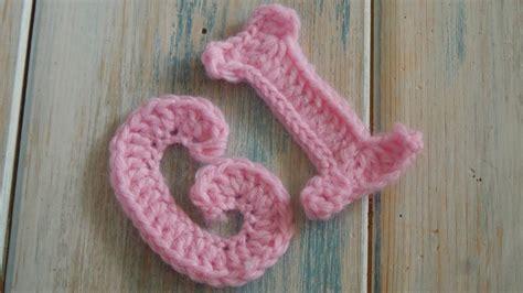 crochet   crochet letters   crochet extras youtube