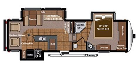 Montana 5th Wheel Floor Plans 2011 by 2012 Keystone Rv Mountaineer Fifth Wheel Series M 290 Rlt