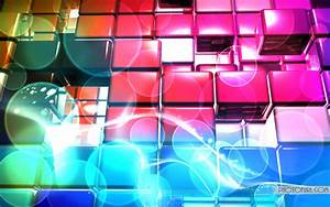 Beautiful Colourful Crystal Boxes Wallpaper Desktop Wallpaper Background And Laptop