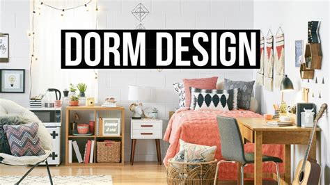 Design Your Dorm With Target + Room Tour 2016! Youtube