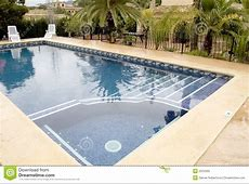 Swimming pool with jacuzzi stock photo Image of swimming