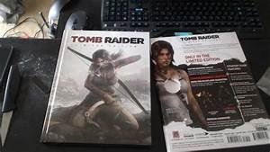 Tomb Raider Limited Edition Strategy Guide Unboxing - Kutu Acma - Turkce  Turkish