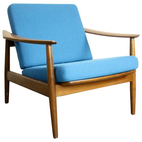 vintage teak reclining lounge chair by arne vodder