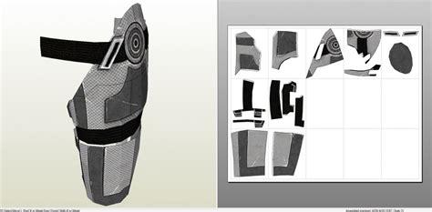 Mass Effect 3 N7 Armor Template by Foamcraft Pdo File Template For Mass Effect N7