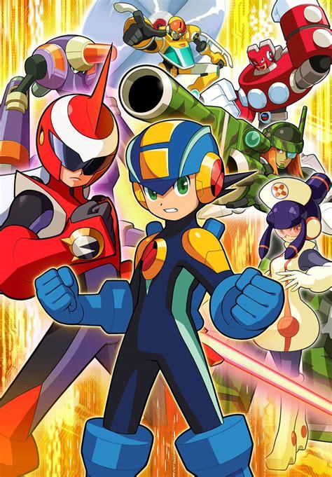 Mega Man Mega Man Volnutt Capcom Art Gallery