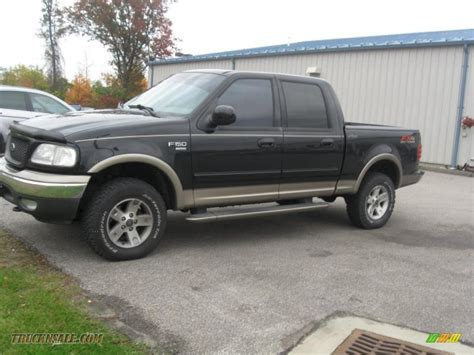 Black Ford F150 by 2003 Ford F150 Xlt Supercrew 4x4 In Black Photo 8