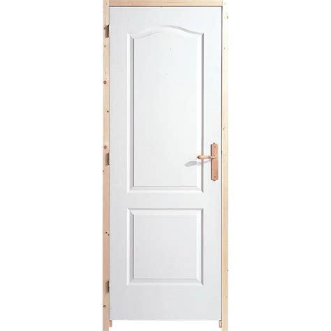 porte interieur a recouvrement bloc porte isothermique postform 233 h 204 x l 73 cm leroy merlin