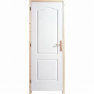 Porte Sans Bati Leroy Merlin : bloc porte postform x cm poussant droit ~ Dailycaller-alerts.com Idées de Décoration