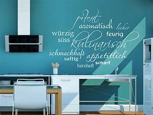 Welche Tapete Passt In Die Küche : wandtattoo wortwolke kulinarisch bei ~ Sanjose-hotels-ca.com Haus und Dekorationen